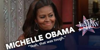 Michelle Obama Throws Shade, Not Sympathy, To Plagiarist Melania