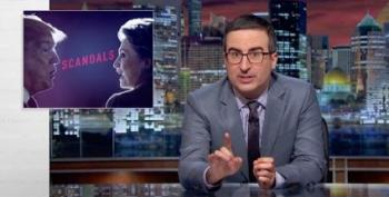 John Oliver Compares Trump And Clinton 'Scandals'