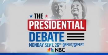 LIVESTREAM:  Presidential Debate Open Thread