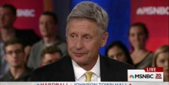 Gary Johnson's Painful, Second 'Aleppo Moment'