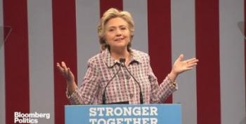 Clinton Unleashes 3AM Tweetstorm To Mock Trump, But Hers Has Substance