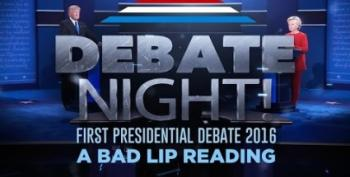 Bad Lip Reading Looks At The First Debate