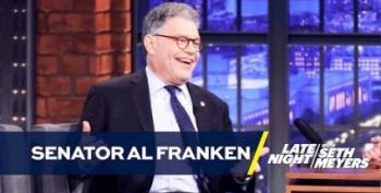 Al Franken On Trump: 'Worst Comb-Over I've Ever Seen!'