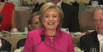 Trump Booed At Al Smith Dinner; Clinton Slays