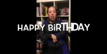 Open Thread - A Special Birthday Card For Hillary Clinton