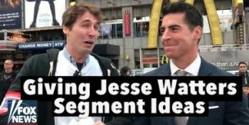 Jesse Gets The 'Watters Treatment' From Comedian Jason Selvig
