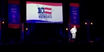 Jon Stewart Takes On Trump Tweets At Veteran's Benefit