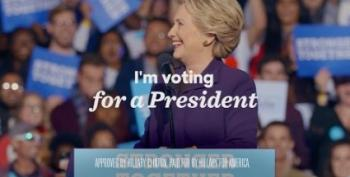 Hillary's Closing Argument Ad: ROAR!