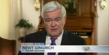 Newt Gingrich Flip Flops On James Comey: He Caved