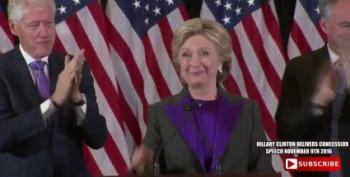 Hillary Clinton Speaks To The Nation