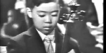 Open Thread - Immigrant Children Make Music For The President, 1962