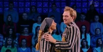 Wife Of Putin Aide Performs Holocaust-Themed Skate Routine