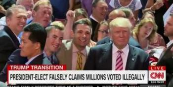 Trump Flips Out On CNN's Jeff Zeleny For Challenging Him On Voter Fraud