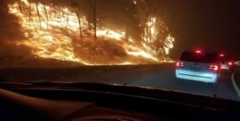 As Tennessee Burns, State Law Lets Teachers Lie About Climate Change's Role In Wildfires