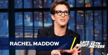 Rachel Maddow On Late Night: Trump Is Terrified Of Windmills!