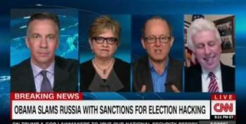 CNN Host Smacks Jeffrey Lord For Denying Russian Interference