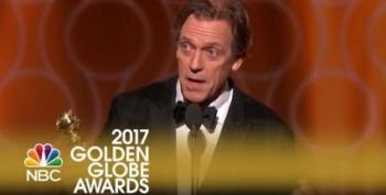 Meryl Streep Wasn't Only Golden Globe Winner Dissing Trump