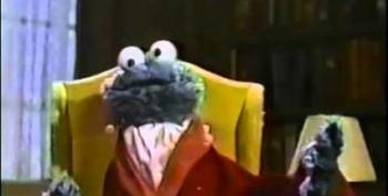 Open Thread:  Cookie Monster...Sings Tom Waits?
