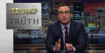 Jon Oliver Talks To Trump By Buying Fox News Ad Time