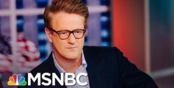 Scarborough Wants Trump To Behave? Good Luck
