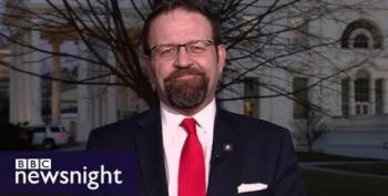 Sebastian Gorka Calls BBC News 'Fake News' For Questioning Trump