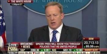 Sean Spicer Attacks Anne Frank Center: Trump's Actions 'Never Good Enough'