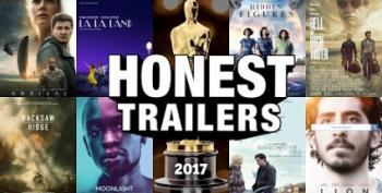 Open Thread: 'Honest Trailers' Does The 2017 Oscars (tm)