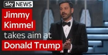 In Other Oscar News, Jimmy Kimmel Went After Trump Bigly