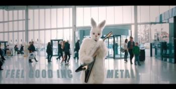 Open Thread - The Easter Bunny - Totally Metal