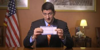 Lyin' Ryan: Tax Forms The Size Of Postcards
