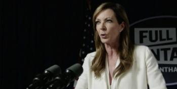Not The White House Correspondents' Dinner: CJ Cregg Takes Down The Fake News