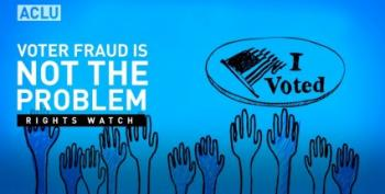 ACLU Pushes Back On Trump's Stupid Voter Fraud Commission