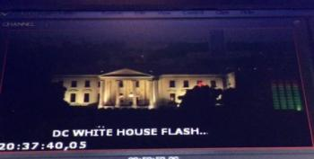 The Mystery Of The White House And The Flashing Red Lights