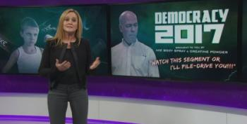 Sam Bee Covers GOP Toxic Testosterone Like No One Can