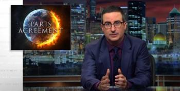 John Oliver: Everything Trump Said Re Paris Accord Was False