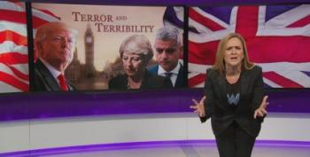 Samantha Bee Takes On 'Pumpkin Spice' Trump's London Tweets
