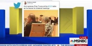 Why Is Princess Ivanka Filling In For Trump At G20 Meetings?