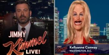 Late-Night Comedians Have Big Laughs At Kellyanne's Expense
