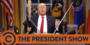 Open Thread: Trump Does Presidenty Things!