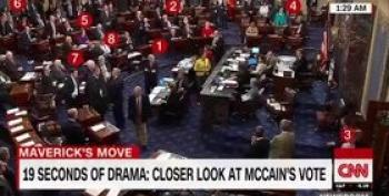 Here's John McCain's Healthcare Vote, Play By Play