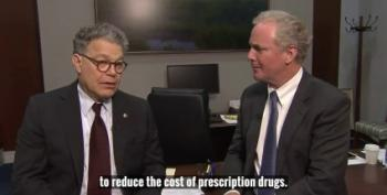 Al Franken And Chris Van Hollen Discuss Lowering Prescription Costs