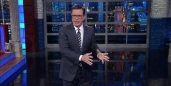 Colbert Skewers Trump: Nazi Or Not? Take A Side, Mr. President