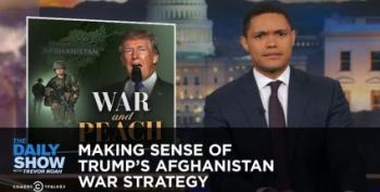 Trevor Noah Compares Donald Trump's Military Strategy To 'His Position On Nazis -- Unclear'