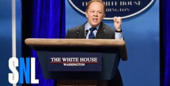 Sean Spicer Cashing In?  Is SNL On The Phone?