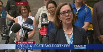 Oregon Governor: Feds Refused Additional Aid For Wildfires