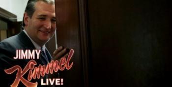 Jimmy Kimmel Takes On Ted Cruz's 'Like' Of Stepmom Porn