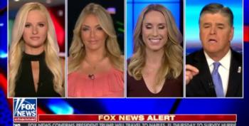 Hannity's All-White Panel Reassures Themselves They're Not Racist