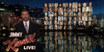 Emotional Jimmy Kimmel: 'NRA Has Politicians' Balls In A Money Clip'