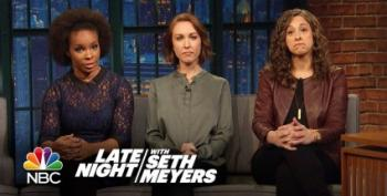 The Women Of Late Night Discuss Harvey Weinstein's Apology