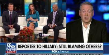 Mike Huckabee: 'Can't Recall' If Trump Admitted Sexually Assaulting Women After Weinstein Scandal